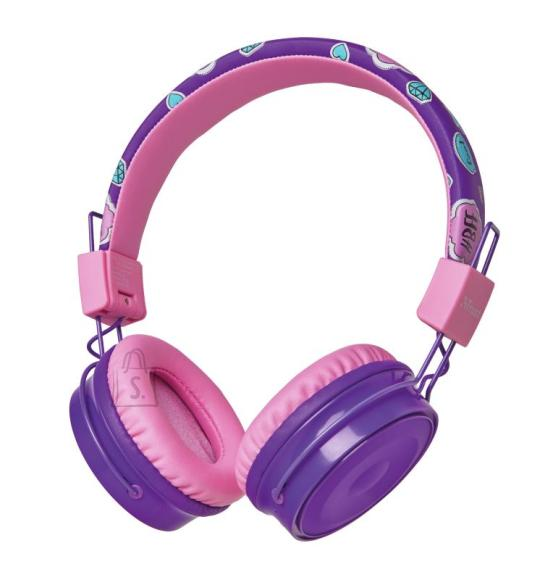 Trust HEADSET COMI BT KIDS WRL/PURPLE 23608 TRUST