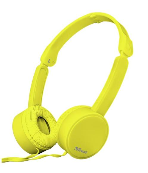 Trust HEADSET NANO/YELLOW 23106 TRUST