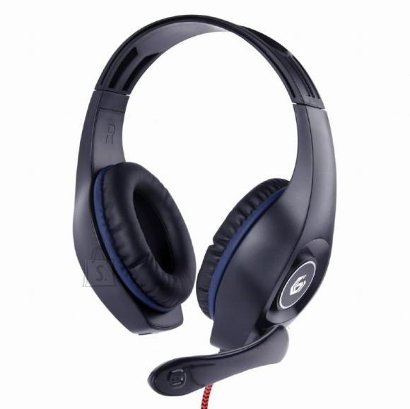 Gembird HEADSET GAMING/BLUE/BLACK GHS-05-B GEMBIRD