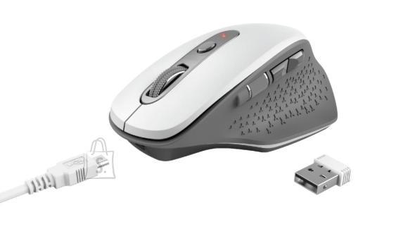 Trust MOUSE USB OPTICAL WRL/OZAA WHITE 24035 TRUST