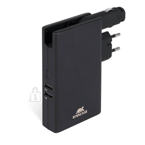 POWER BANK USB 5000MAH/W/WALL CHARGER VA4749 RIVACASE