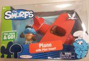 The Smurfs mängusõiduk ja minifiguur