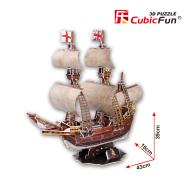 CubicFun 3D pusle May Flower Purjekas 111 tk