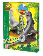 Ses kipsi valamise käsitöökomplekt T-Rex