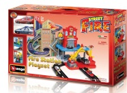 Bburago mängurada Street Fire parkimismaja