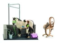 Schleich mängukomplekt hobuse pesula