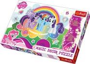 Trefl helendav pusle My Little Pony 15 tk