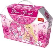 Trefl sädelev pusle Barbie 50 tk