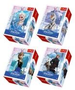 Trefl minipusle Frozen 54 tk
