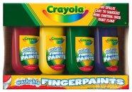 Crayola näpuvärvid 4 tk