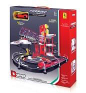 Bburago autoraja komplekt Ferrari Race&Play 1:43