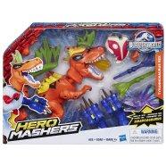 Jurassic World mängukomplekt Hero Mashers tulistav dino