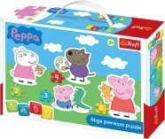 Trefl pusle Peppa Pig Baby Classic 14 tk