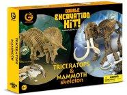 Geoworld Suur Komplekt Triceratops & Mammoth