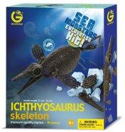 Geoworld merekoletis Ichthyosaurus skelett