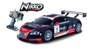 Nikko raadioteel juhitav auto WRC Audi R8 1/16