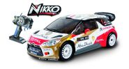 Nikko raadioteel juhtitav auto WRC DS3 1/16