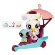 Littlest Pet Shop mängukomplekt Loomake sõidukiga