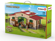Schleich mängukomplekt Farm World ratsabaas