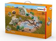 Schleich mängukomplekt Wild Life safari