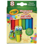 Crayola plastiliin, 8 erksat värvi