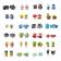 Transformers HASBRO TRANSFORMERS BOTBOT Pimepakk (Seeria 1)