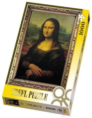Trefl pusle Mona Lisa 1000 tk
