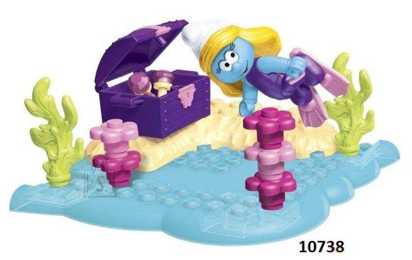Mega Bloks mängukomplekt Smurfid