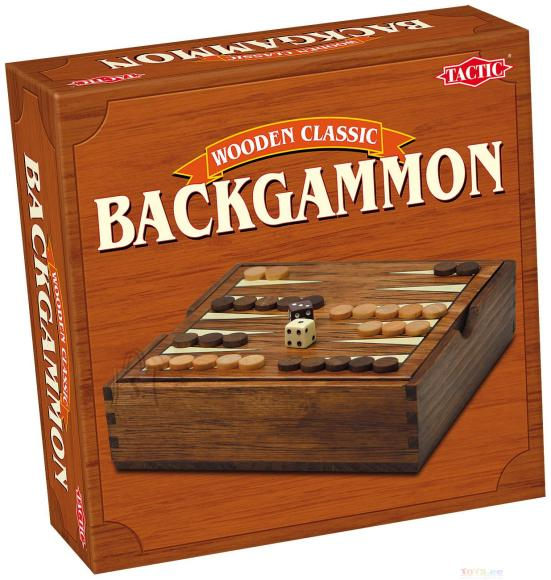 Tactic lauamäng Mini Backgammon