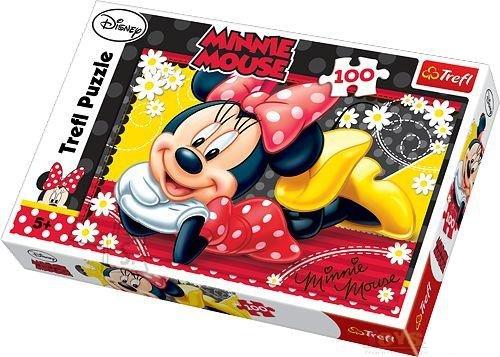Trefl pusle Õnnelik Minnie 100 tk