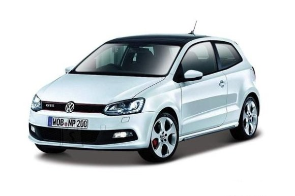 Bburago mudelauto VW Polo GTI Mark 5 1:24