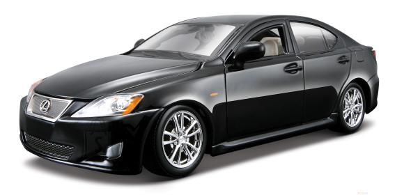 Bburago mudelauto Lexus IS 350 1:24