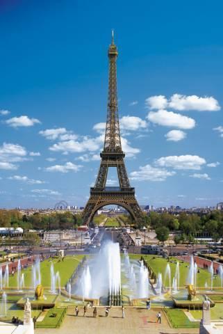 Trefl pusle Eiffeli torn 2000 tk