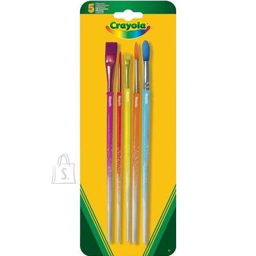 Crayola värvipintsel 5 tk
