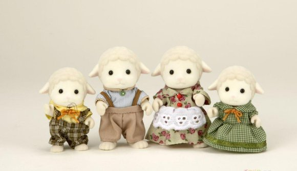 Sylvanian Families mängukujud lamba pere