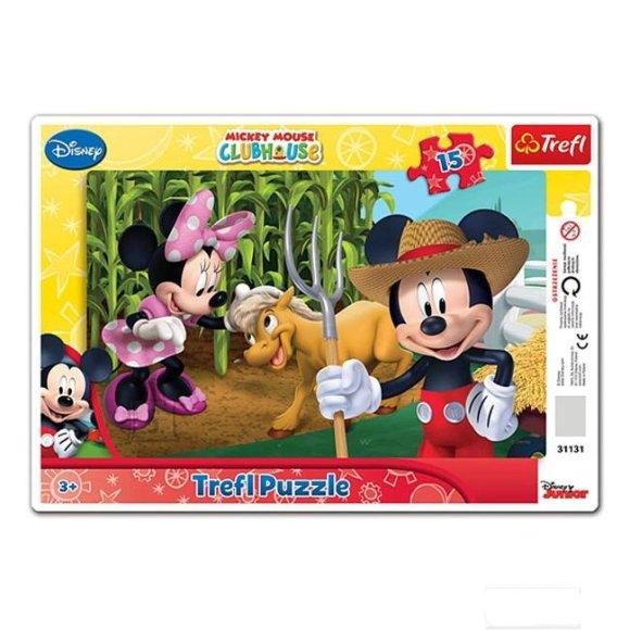 Trefl raampusle Miki Hiir ja Minnie 15 tk