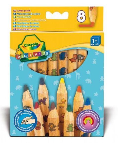 Crayola dekoreeritud värvipliiatsid 8 tk
