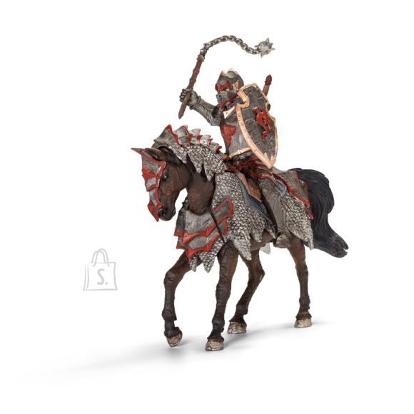 Schleich mängufiguur Draakoniratsutaja hobusel