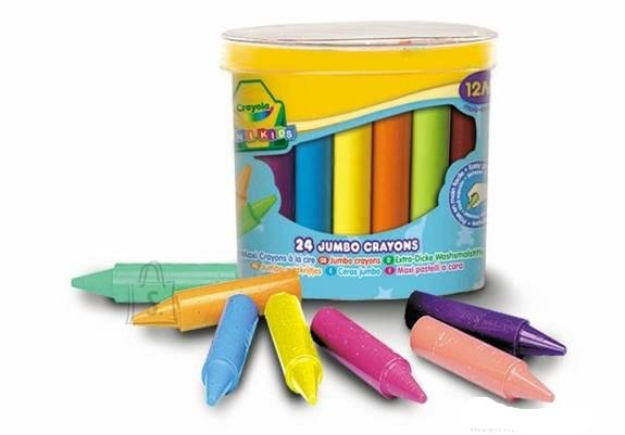 Crayola rasvakriidid 24 tk