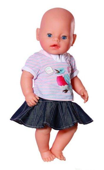Baby Born loomahäältega rõivastekomplekt