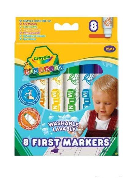 Crayola pestavad värvimarkerid 8 tk