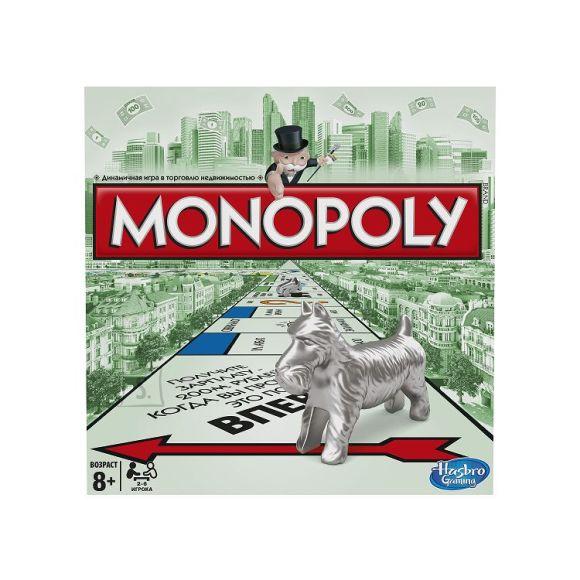 Hasbro lauamäng Monopoly Standard (venekeelne)
