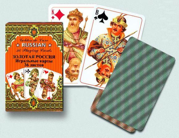 Piatnik mängukaardid Kuldne (venekeelne)