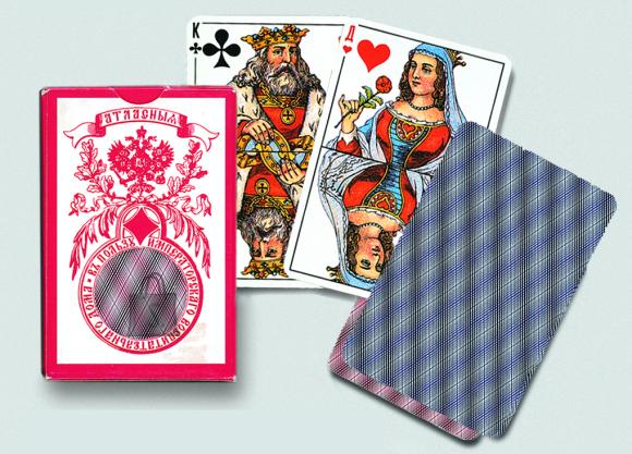 Piatnik mängukaardid Standard Russian