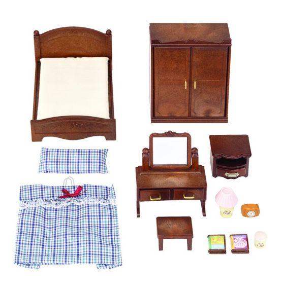 Sylvanian Families mängukomplekt magamistoamööbel
