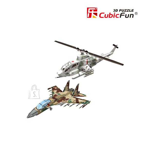 CubicFun 3D pusle Kopter & Lennuk 102 tk