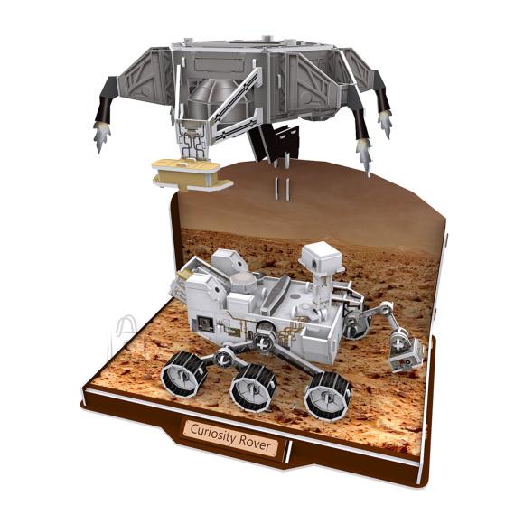 CubicFun 3D pusle Curiosity Hulkur 166 tk