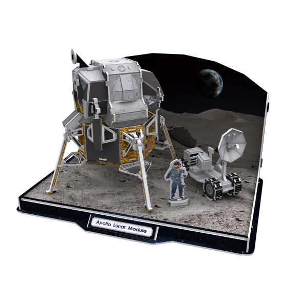 CubicFun 3D pusle Apollo Kuu Moodul 104 tk