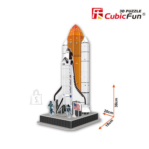 CubicFun 3D pusle Kosmose Süstik 87 tk