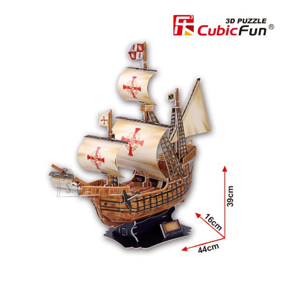 CubicFun 3D pusle Santa Maria Purjekas 113 tk